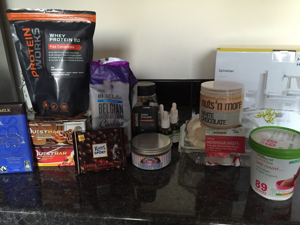 Just a small selection of my fave macro buffering foods!